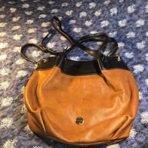 Franco Sarto crossbody and 2 handle carry purse n